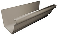 K or O/G Style Seamless Gutter